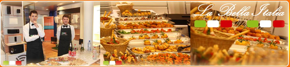 Banqueting  Catering - Traiteur Bruxelles La Bella Italia Service organisation soiree