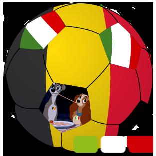 Foot Euro 2016 Juin Match Belgique Italie - Traiteur italien