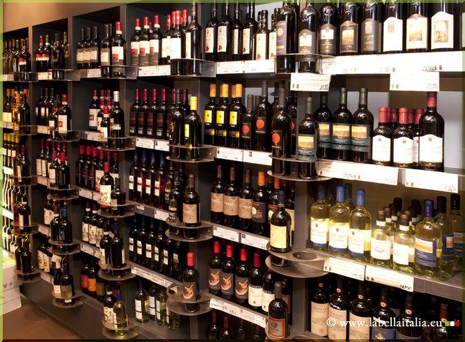 Vin italien - Trateur italien Bruxelles - La Bella Italia