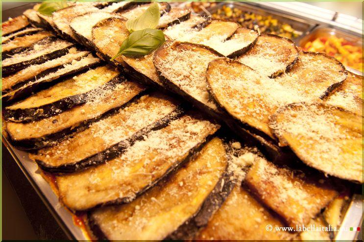 Traiteur italien Bruxelles Lasagne aubergine - La Bella Italia Traiteur Italien Bruxelles