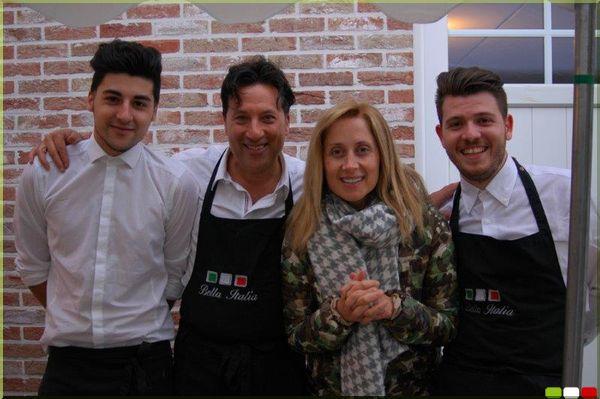 Banquet avec Lara Fabian, notre ambassadrice – Traiteur Bruxelles la Bella italia